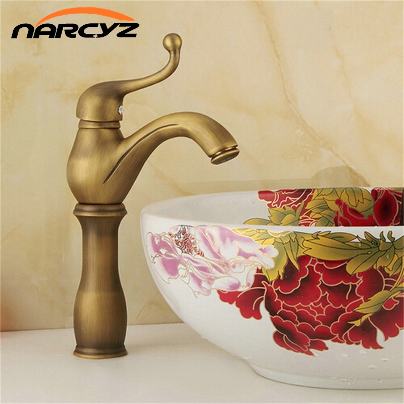 New Arrival Antique Brass Basin Faucet Hot and Cold Mixer Taps Deck Mounted basin tap torneira XT909New Arrival Antique Brass Basin Faucet Hot and Cold Mixer Taps Deck Mounted basin tap torneira XT909