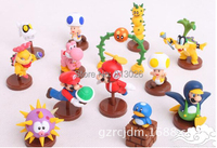 13pcs Set Super Mario Bros Figures PVC Collection Figures Toys For Christmas Gift Brinquedos ToyO0065