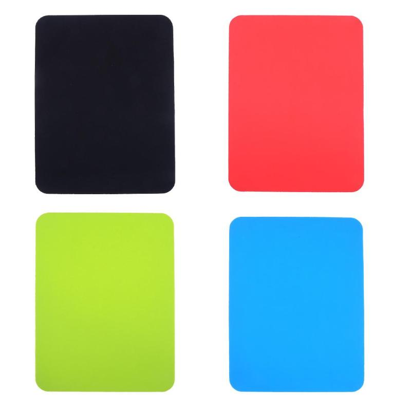 ALLOYSEED Silicone Gel Anti-Slip Gaming Mouse Pad Square Mice Mousepad Waterproof Home Office Table Mat