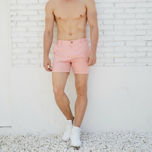 Hot man casual summer shorts pink green fashion England shorts new arrival