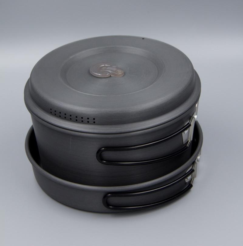 Casseroles de camping ultra-légères APG et ustensiles de cuisine de camping portables - 2