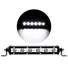 car work light led work light bar 12v for auto offroad spotlight led bars Aluminum material high power lamp for suv auto truckor