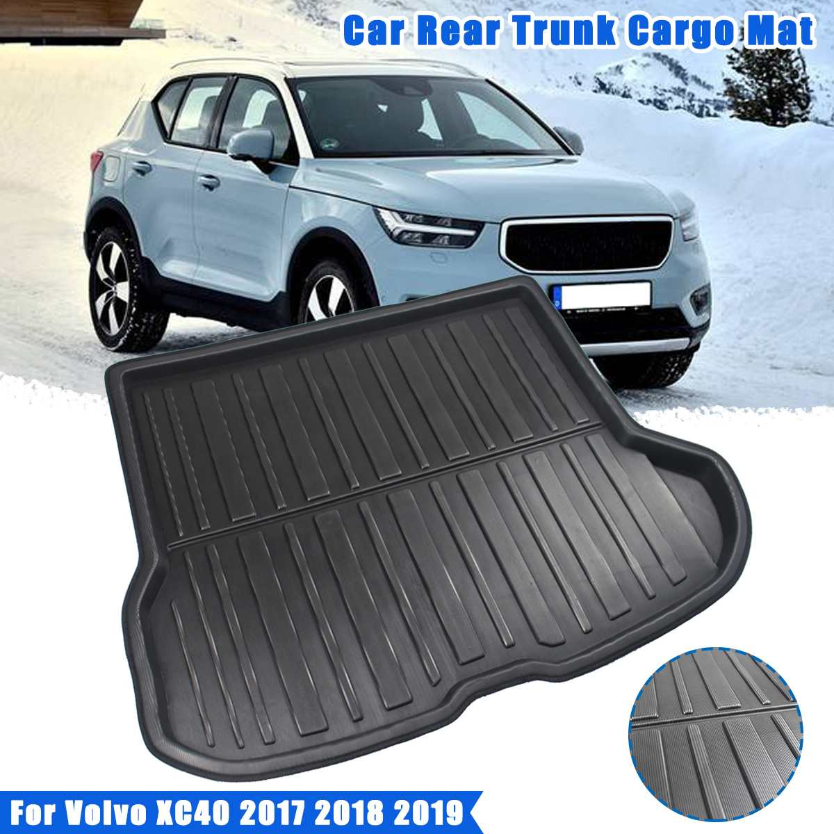 Peugeot 108 RUBBER CAR BOOT MAT LINER COVER PROTECTOR 14 on