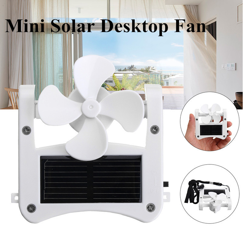 Mini Solar Power / USB Portable Cap Hat Clip on Fan Hanging Mini Desktop USB Fan Camping Cooler original xiaomi portable usb mini fan
