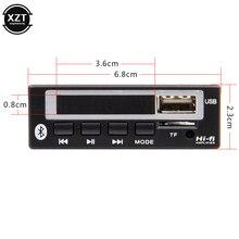Автомобильный аудио USB TF FM Радио MP3 модуль беспроводной Bluetooth 5,0 12 в MP3 WMA декодер доска MP3-плеер с пультом дистанционного управления для автомобиля