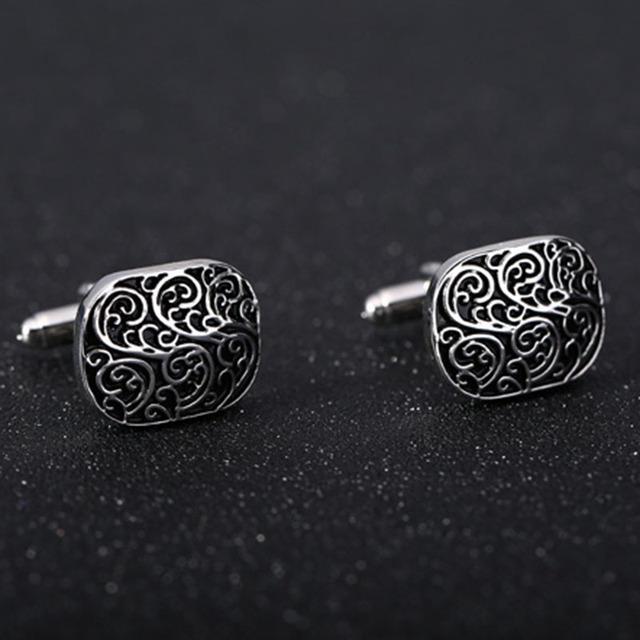 Vagula Enamel Cufflinks Aaa Gemelos Jewelry Shirt Cuff Links