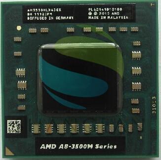AMD A8 3500M Series  Notebooks A8-3550MX AM3550HLX43GX A8 3550MX Quad Core/2.0G/4M Socket FS1 722-pin Laptop CPU Processor