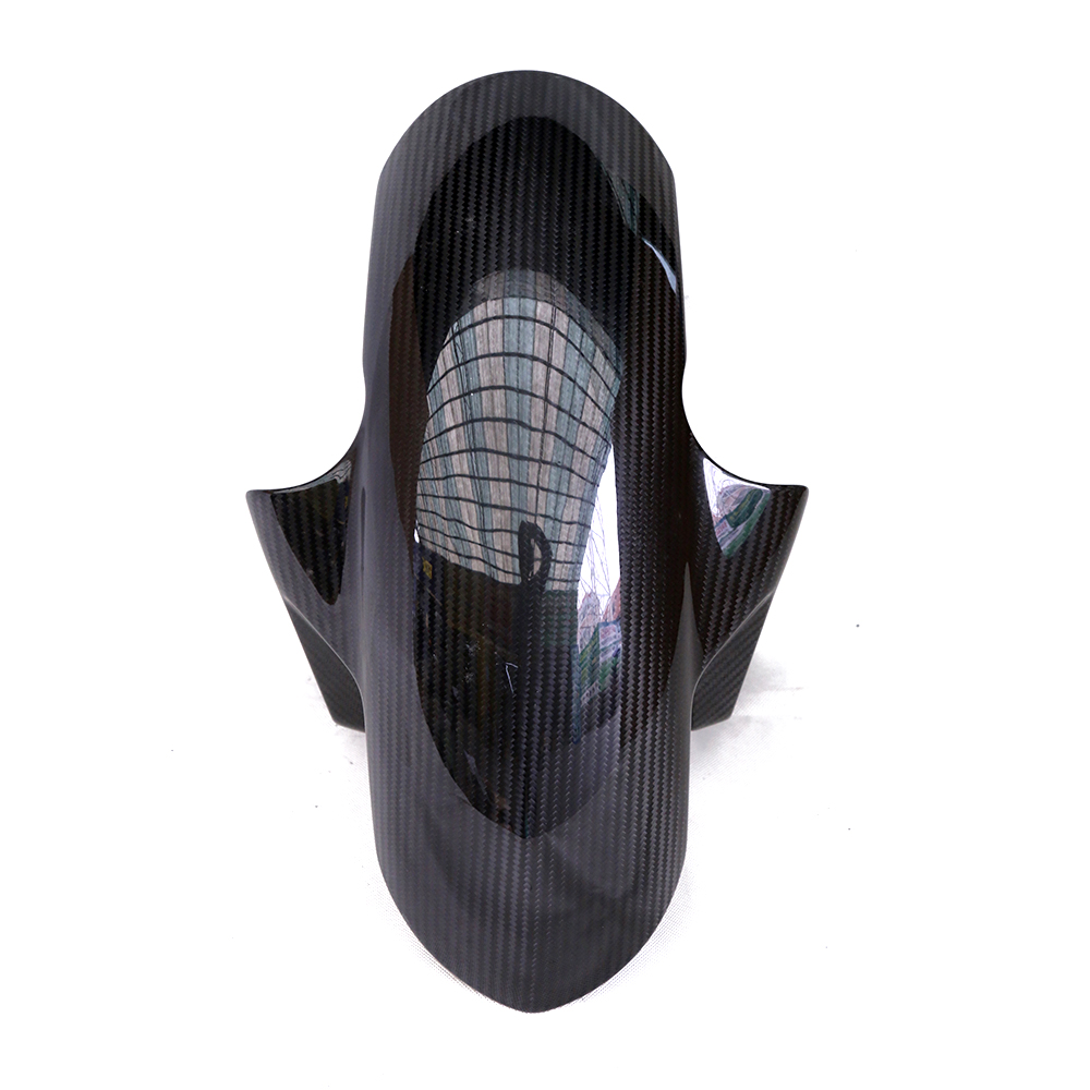 Carbon Fiber Front Fender Splash Mud Dust Guard Mudguard Cover For BMW S1000RR 2009-2015 S1000R 2014-2015 S1000XR HP4 2009-2015 exterior accessories carbon fiber for infiniti q50 wheel decorative protective fender mudguard sticker cover