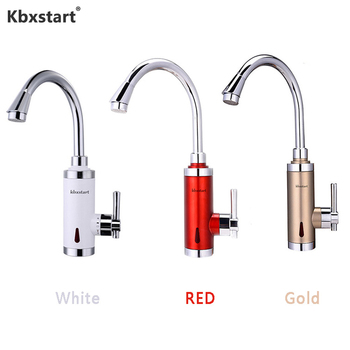 3000W Instant Water Heater Tap 3 Seconds Fast Heating Calentador De Agua Electrico Faucet With Hot Water Heating Torneira Pump