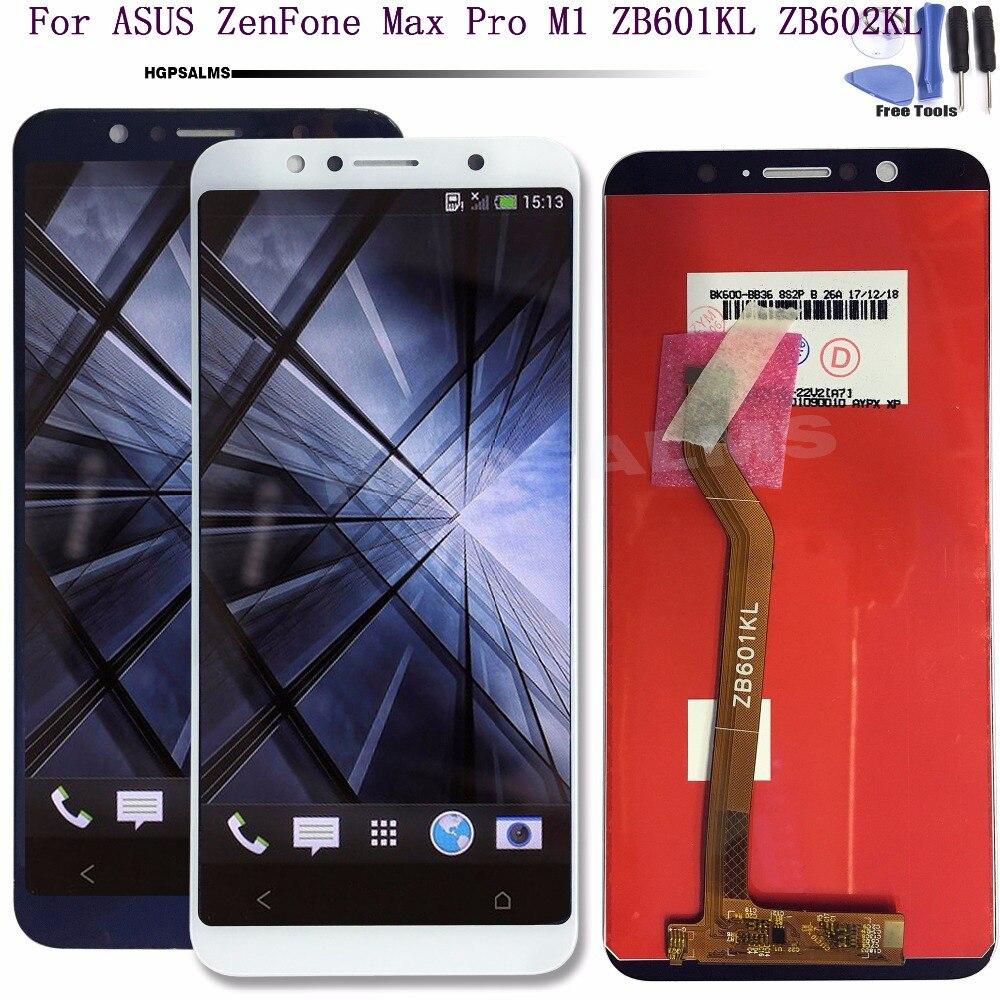 Pour ASUS ZenFone Max Pro M1 ZB601KL ZB602KL LCD Affichage à L'écran Tactile Digitizer Assemblée Pour ASUS ZB601KL ZB602KL