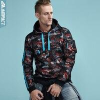 AIMPACT 2017 2018 New Fashion Sweatshirts Men Women Hoodies Autumn Winter Activewear Loose Hooded Tops Camouflage