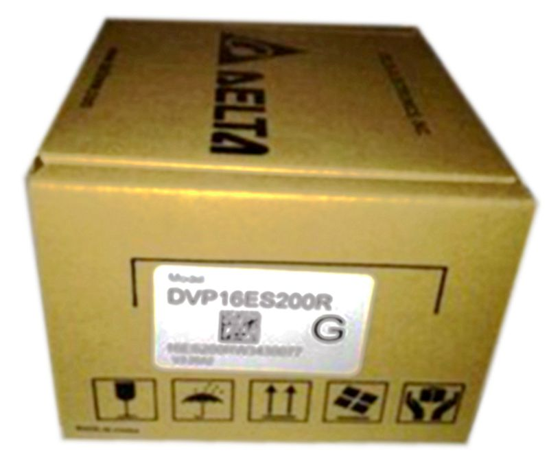 New Original DVP16ES200R Delta PLC ES2 series 100-240VAC 8DI 8DO Relay output new original delta dvp06sn11r dc24v plc 6do relay module