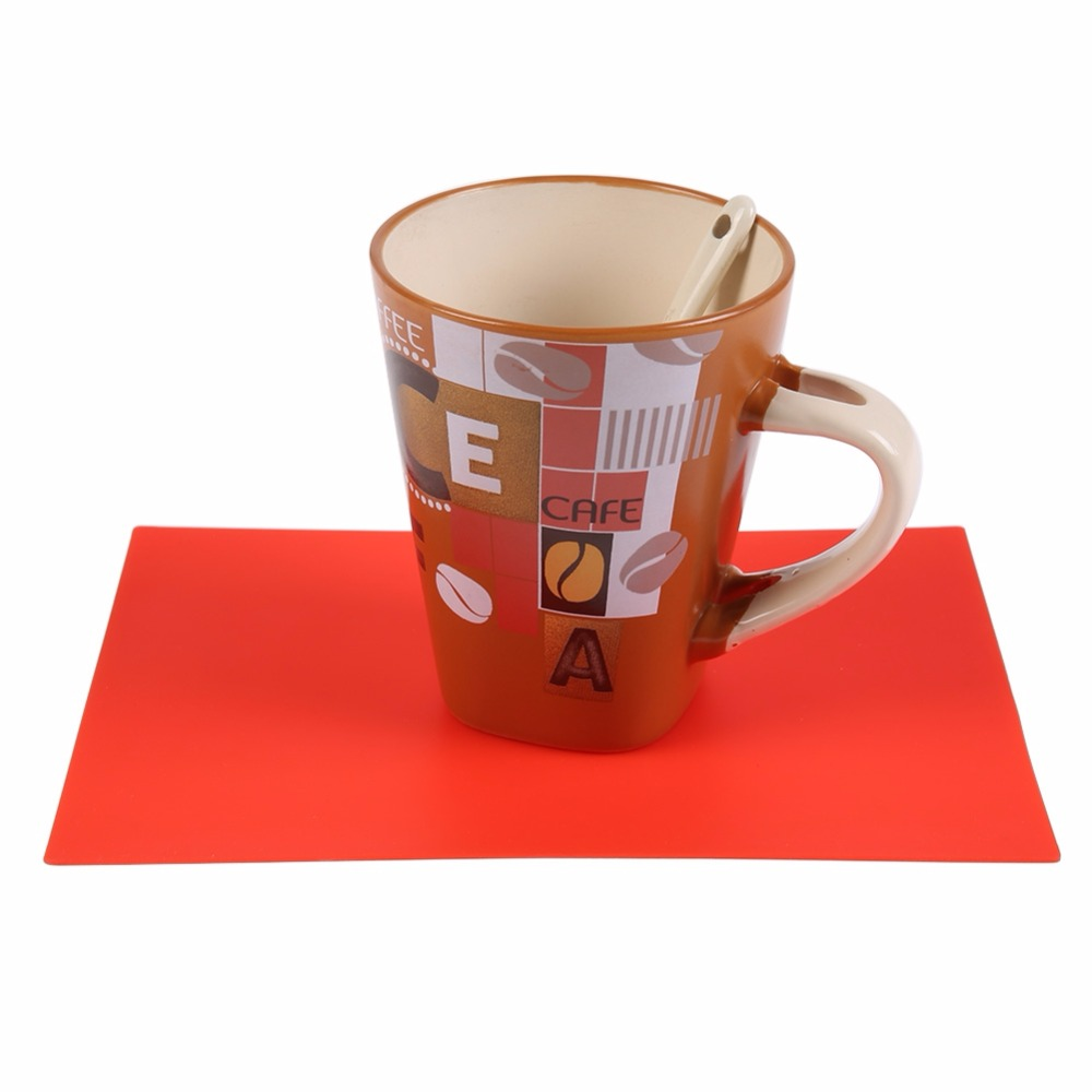 12 Colors Baking Coaster Coffee Tea Place Mat Kitchen Pads