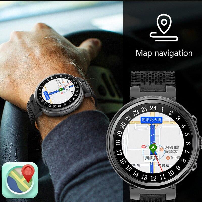 Точное навигационная карта Bluetooth smart часы пульсометр smartwatches прогноз погоды активного отдыха спортивные наручные часы