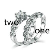 BVSHOU01 новый комплект колец обручальное кольцо для мужчин и женщин парные ювелирные кольца