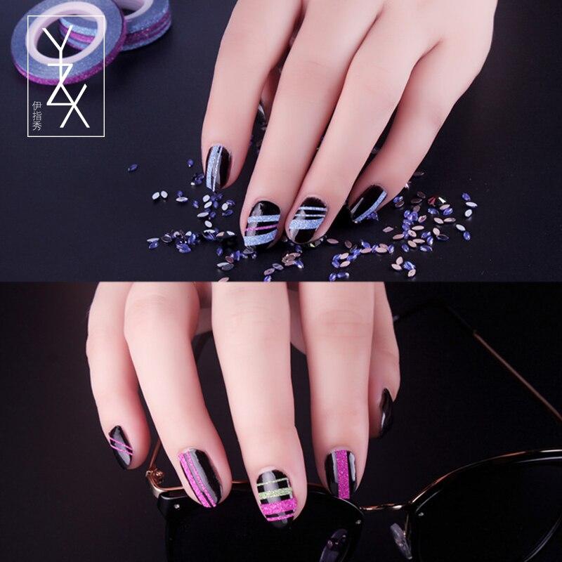 Luxury Nail Line Stickers Ornament - Nail Art Ideas - morihati.com