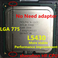 lntel Xeon L5430 2.66GHz/12M/1333Mhz/CPU equal to LGA775 Quad-Core Q8200 Q830000 Q8400(works on mainboard no need adapter)