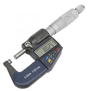 1 шт. 0-25 мм электронный цифровой микрометр 0,001 мм Толщиномер и гаечный ключ Набор Микрометр внутренний измерительный инструмент