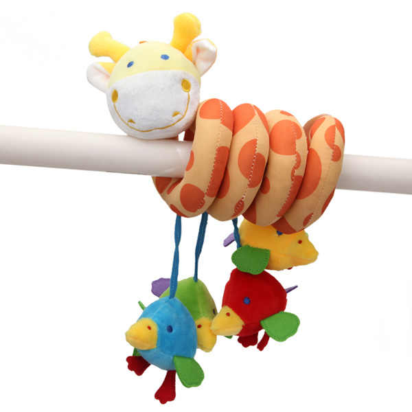 Babies Kids Bed Around Educational Handing Toy Lovely Animal Giraffe Plush Soft Toy Bedding Sets