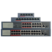 HIK with logo 4CH 8CH 16CH 24CH PoE LAN Network Switch, DS 3E0105P E/M DS 3E0109P E/M DS 3E0318P E/M DS 3E0326P E/M Economic