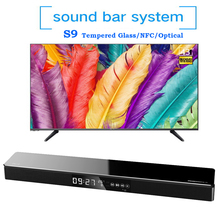 40W Bluetooth Soundbar TV Home Theater Soundbar Wireless Speaker HIFI Stereo Soundbar System Subwoofer Sound Bar Optical NFC USB