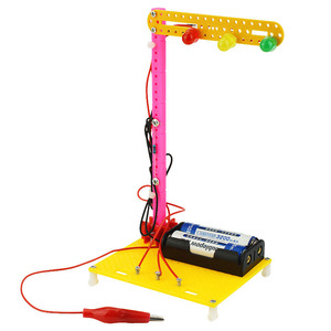 DIY Science Experiment Traffic Lights Technological Invention Creative Electric Toy Handmade Assemble Toy for Student