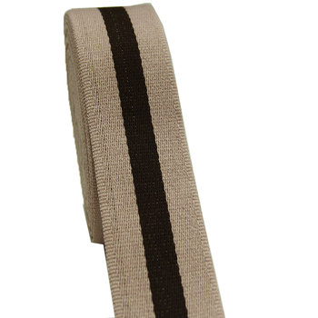 """high quality wholesale cotton webbing twill tape pink/coffee color 2"""" wide webbing 50 yards/lot"""