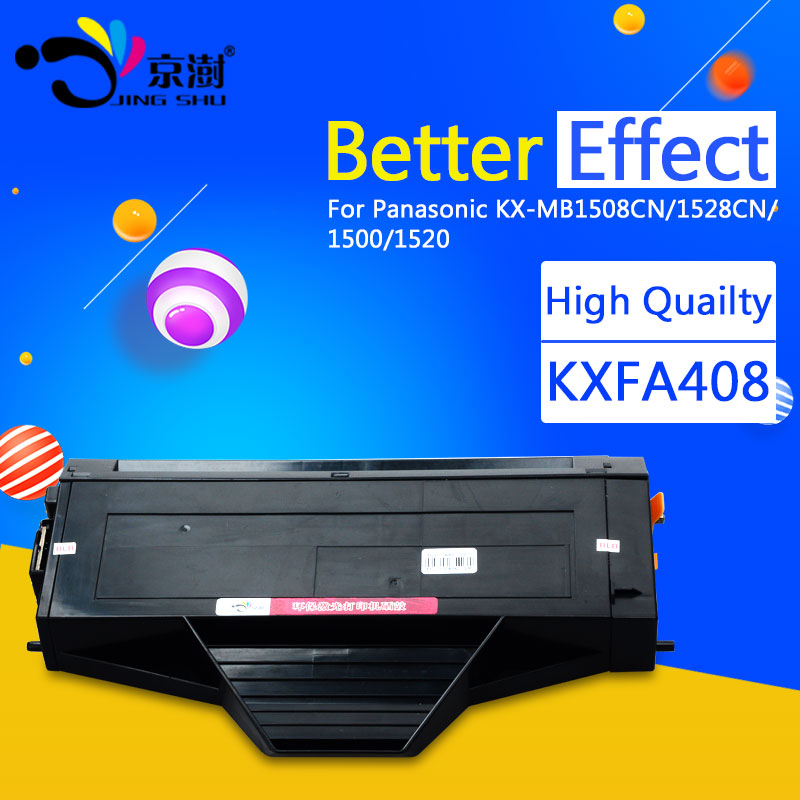 1pcs KX FAC408CN toner cartridge Compatible for Panasonic KX MB1500 1508 1510 1520 1518 1528 1530 1536 printer-in Toner Cartridges from Computer & Office    1