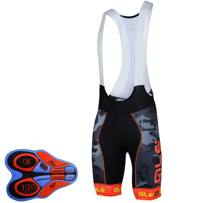 2018 men summer ALE bicycle shirt shorts 9D do pad breathable bicycle clothes mountain bike Maillot Robaba Ciclismo