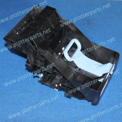 CK837-67027 CK837-67004 Carriage assembly for HP DesignJet T620 T1120  plotter parts Original used c4704 40059 pinch arm media lever for hp designjet 2000cp 2500cp 2800cp 3000cp 3500cp 3800cp plotter parts
