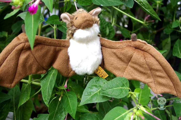 Stuffed Animal Toys Bat Doll Plush Pendant Toy Baby Birthday Gift Key