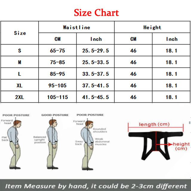 Palicy Neoprene Shapewear For Men Bodysuit Corset Male Back Lumbar Sauna Suit Brace Strap Vest Belt Cincher Posture Corrector 1