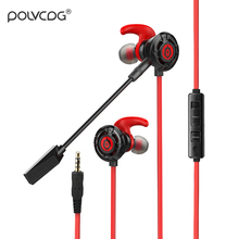 Games Earphone In-ear Mobile Phone Computer Subwoofer Headset Portable Sport Music Universal With Microphone Earplug K1