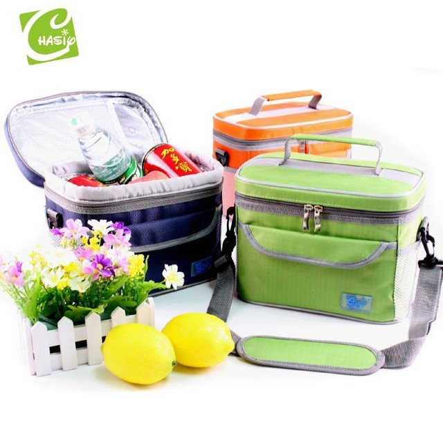 Free Shipping 2017 New Arrival Picnic Insulated Lunch Bag /Oxford Cooler Bag /Portable Lunch Box /Thermal Bags for Food