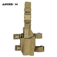 Gun Pistol Holder Left Hand Holster Universal Tactical Thigh Drop Leg Hunting Shooting Portable Men S