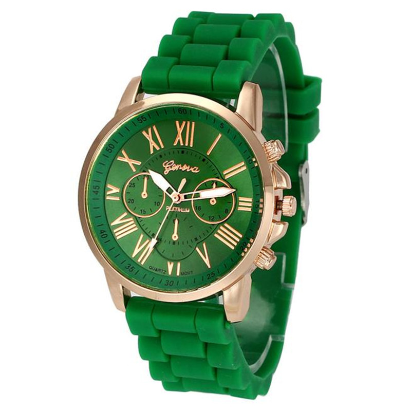Relogio Masculino 2018 New Women Sports Clock Analog Quart Gift Geneva Women Silicone Analog Quartz Wrist Watch Montre Femme Рубашка