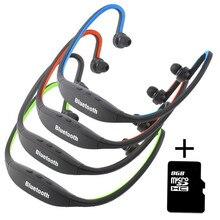 Беспроводные bluetooth наушники s9 наушники спорт фитнес-гарнитура с слот для карты sd + 8 г наушники с микро для iphone 7 android