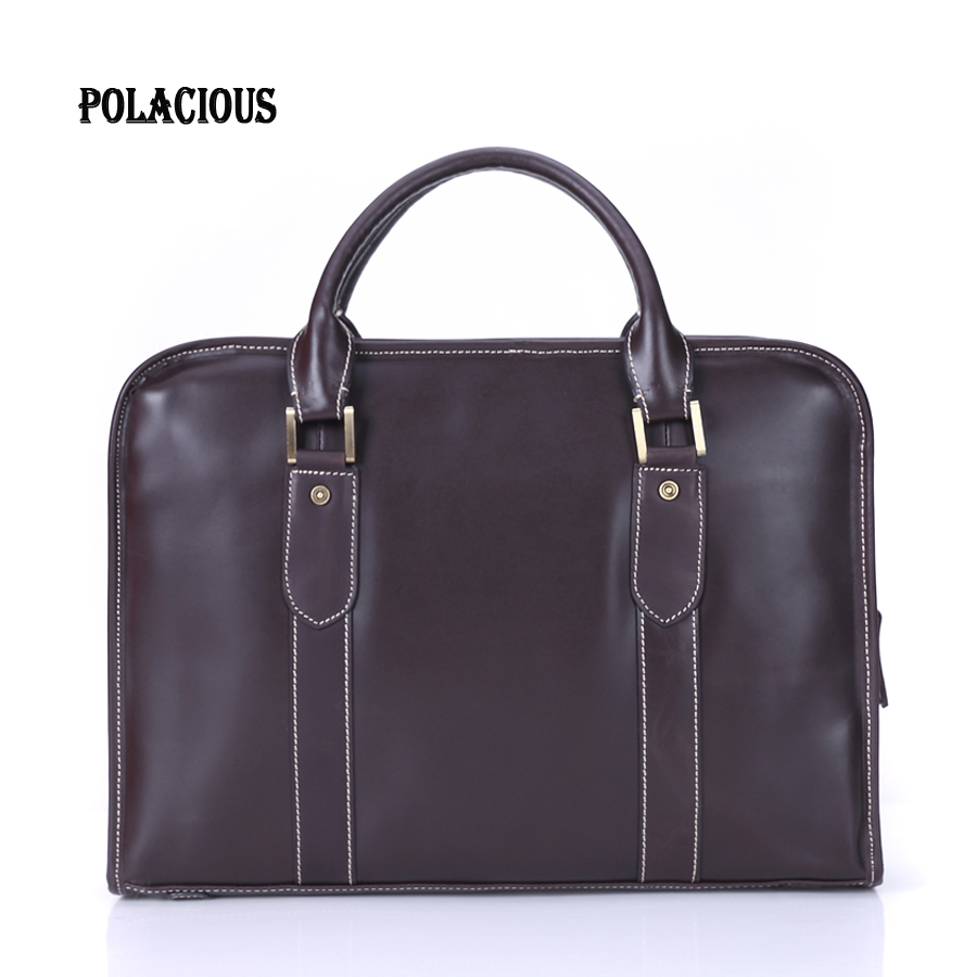 Genuine leather men messenger bag business Leather laptop bag men bag men briefcase Tote shoulder laptop men's travel bag MS8077 mva genuine leather men bag business briefcase messenger handbags men crossbody bags men s travel laptop bag shoulder tote bags