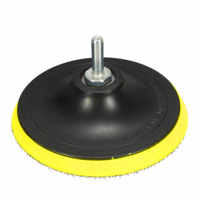 Buffing Plate Polishing Tool Holder Disc 4 Inch Plastic Rubber Screwdriver