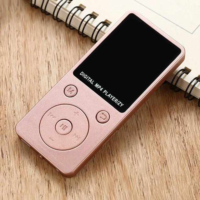 MP4 Âm Nhạc Máy Nghe Nhạc HD Xách Tay Thời Trang Màn Hình Hỗ Trợ 32 GB TF Card Ghi Âm Đài Phát Thanh IJS998