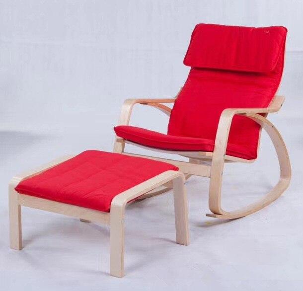 134 31 11 de reduction chaise de relaxation confortable chaise bercante et tabouret ensemble planeurs chaise longue a bascule meubles de salon