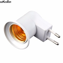 Practical E27 US/EU Plug Lamp Light Wall Socket Super Lightweight Professional Holder Adapter Base Hot