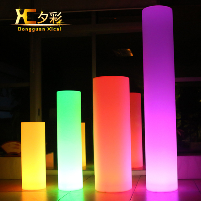 Chargeable remote control illuminated led floor lamp home garden chargeable remote control illuminated led floor lamp home garden landscape light outdoor lawn decorative glowing lighting aloadofball Image collections