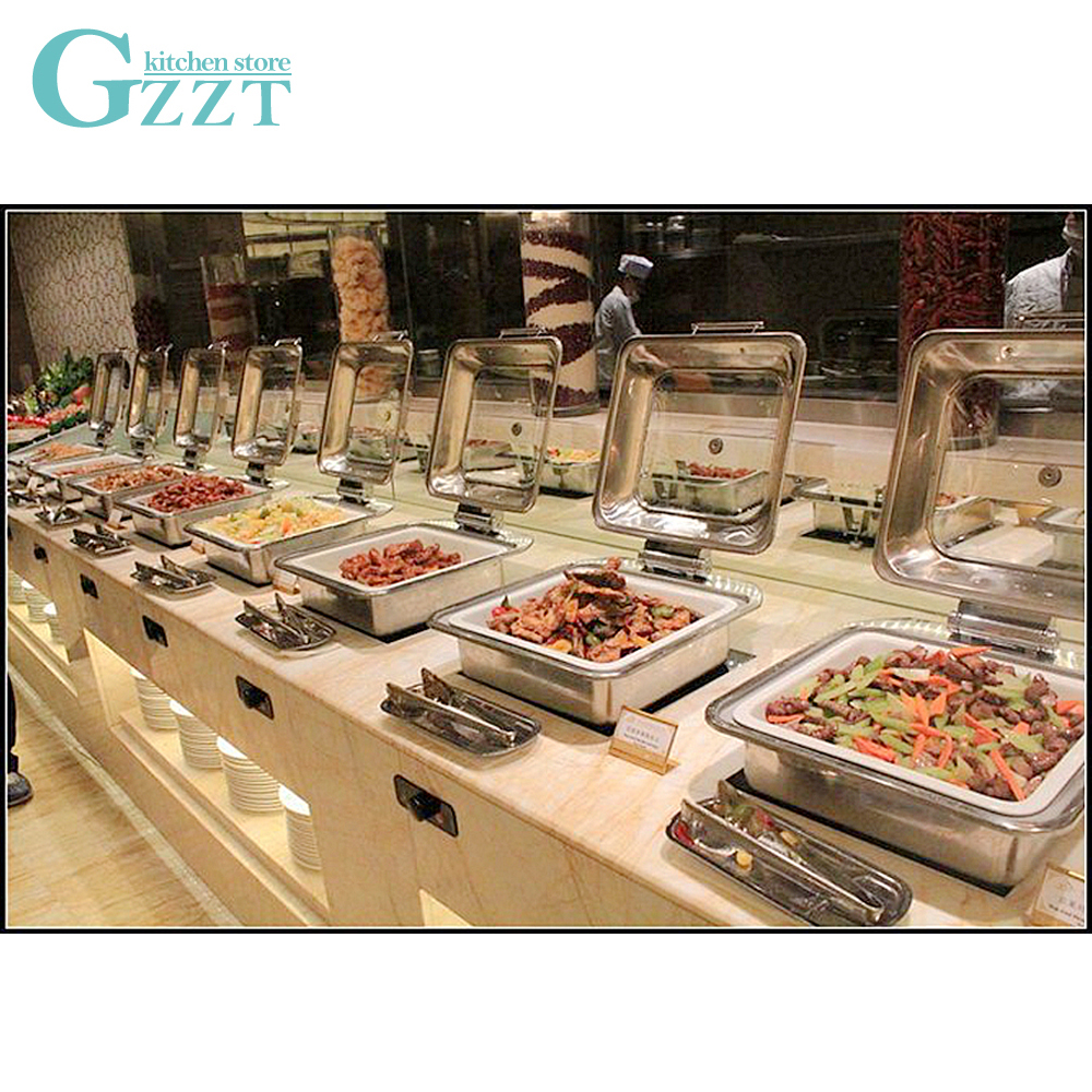 Golden Double Ear Oval Stainless Steel Plate Tray Buffet Candy Fruit Mirror Plate Hotel Restaurant Grill Wedding Tray Cute Dish Dinnerware