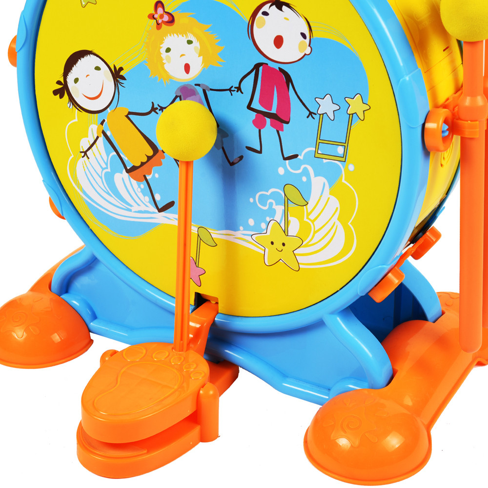 Jazz Drum Drum Percussion Hand On Combination Instrument Children's Games Aug21 mini finger drum set touch drumming led light jazz percussion