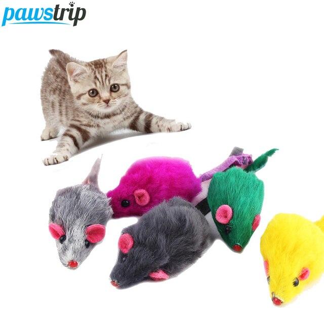 jouet chat fourrure lapin