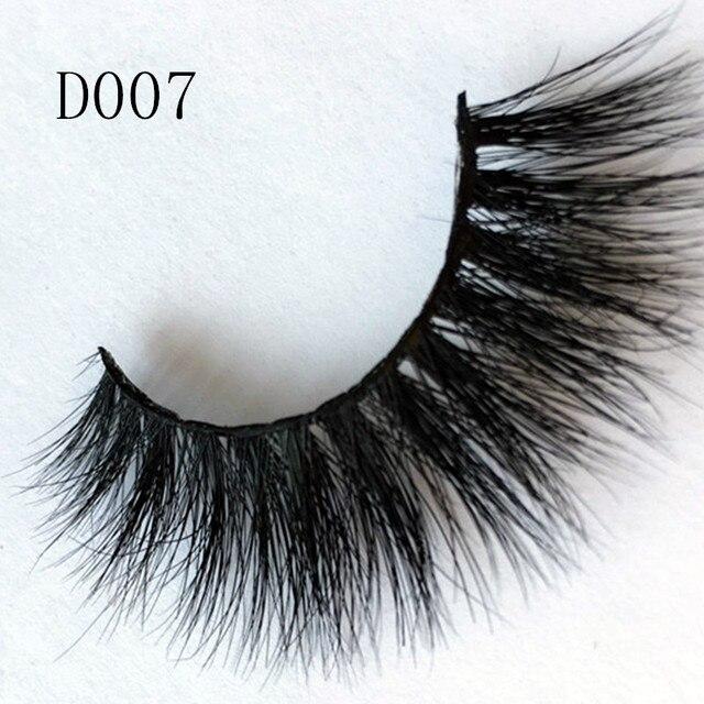 3d Mink Lashes Natural False Eyelashes High Quality Imported