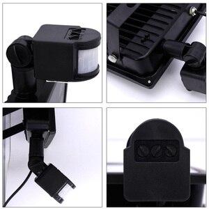 Image 5 - Reflector LED ultradelgado, 10W, 20W, 30W, 50W, con Sensor de movimiento PIR, Detector, foco impermeable, lámparas IP65 para exteriores