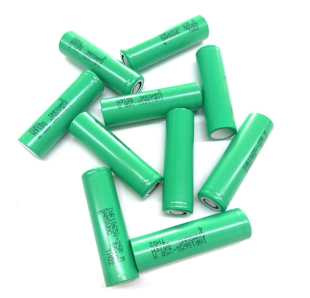 Li-ion 2500mAh 100pieces 18650 INR18650-25R,high power battery cell,power tool battery,Power Cell,discharge rate more than 8C