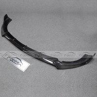 For Mercedes Benz W213 AMG LINE Car Styling B Style Carbon Fiber W213 Front Lip Bumper Trim 2013 2015